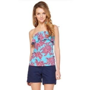 Lilly Pulitzer Wiley Tube Top in Rhode Island Reef
